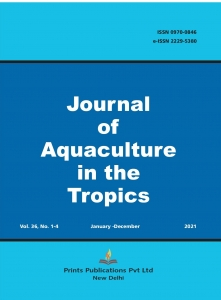 Buy Journal of Aquaculture In The Tropics at Best Price