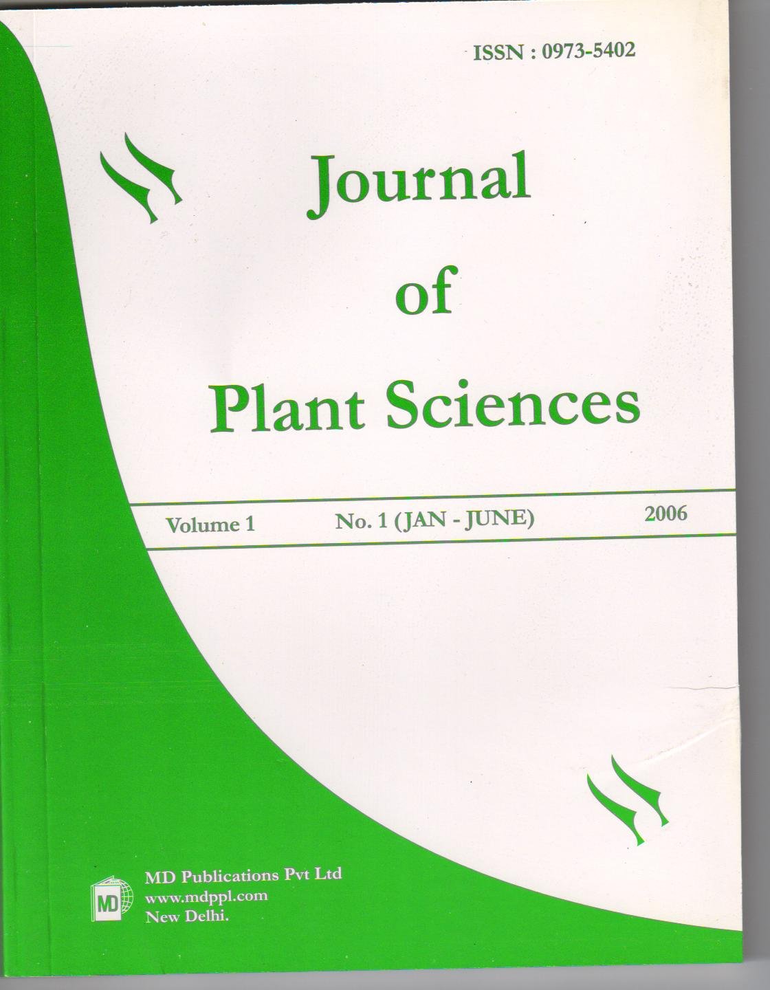 plant science journal of Asian